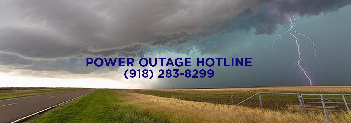 Power Outage Hotline for Claremore, OK
