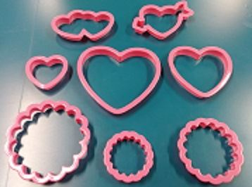 Valentines Cookie Cutters